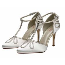 wedding shoes rainbow club elspeth t bar vintage wedding shoes
