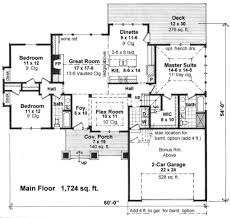 craftsman style house plan 3 beds 2 00 baths 1724 sq ft plan 51 521