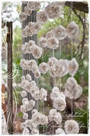 wedding backdrop garland a curtain of twelve garlands create a stunning backdrop for your