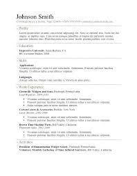 free resume format download free resume templates download sle resume template sweet partner info