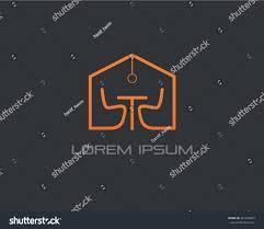 interior design logo vector stock vector 461639065 shutterstock