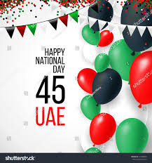 Colors Of Uae Flag United Arab Emirates Uae 45 National Stock Vector 512998642