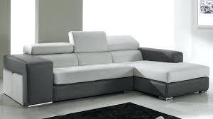 cdiscount canapé d angle cuir canape d angle discount canapac angle cuir noir et blanc pas cher