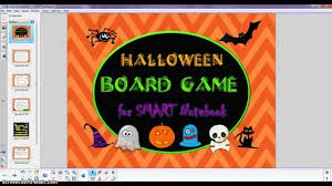 halloween drinking games demo halloween board game for smart notebook youtube
