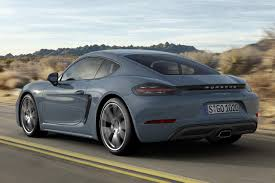 porsche sports car models new porsche 718 cayman sport coupe india launch price inr 85 53 lakh