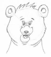 sketches easy bear sketches www sketchesxo