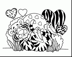 incredible valentines day coloring pages for kids with valentines