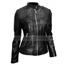 leather moto jacket womens black leather moto jacket ladies quilted jacket with snap