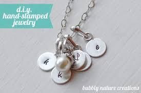 Stamped Jewelry Diy Hand Stamped Jewelry
