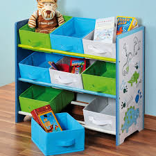 rangement chambre d enfant kesper 2051991 enfant support de rangement avec motif dino 40 x 30 x
