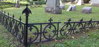 how to make a unique cemetery fence for halloween youtube