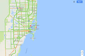 Map State Of Florida by Google Maps Will Mark Closed Roads Live As Hurricane Irma Hits