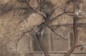 sketch of an apple tree