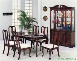 queen anne dining room set modern beautiful cherrywood queen anne dining room set 6 ch