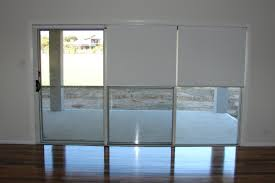 Roller Shades For Sliding Patio Doors Roller Blinds For Sliding Glass Doors Sliding Doors Ideas