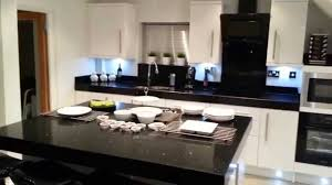 our black and white symphony high gloss kitchen wi youtube