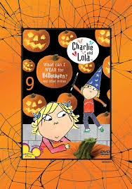 cartoon halloween images amazon com charlie and lola volume 9 what can i wear for
