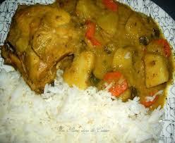 cuisine antillaise colombo de poulet colombo de poulet antillais une plume dans la cuisine caribbean