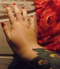 finger tattoo swelling tattoos the aftermath rockalily cuts