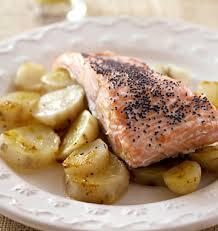 pavés de saumon aux topinambours les meilleures recettes de