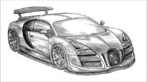 sports car drawing drawn car bugatti veyron pencil and in color drawn car bugatti