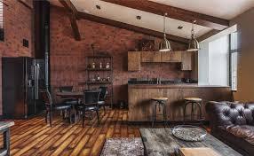 cuisine dans loft cuisine créative aux influences modernes éclectiques et