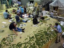 Armchair General Mustering The Troops First Pics Of Massive Gallipoli Diorama At