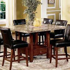 Chair Bbo Poker Rockwell  Piece Dining Table Set With Lounge - High kitchen table with stools