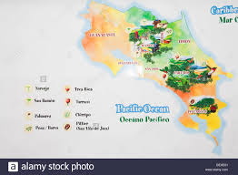 San Jose Costa Rica Map by Costa Rica San Jose Coffee Packaging At Britt Coffee Plantation