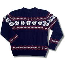cable knit christmas pop boutique retro cable knit christmas snowflake fairisle jumper