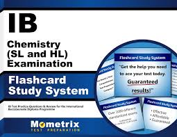 ib chemistry sl and hl examination flashcard study system ib