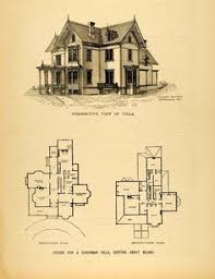an old and traditional victorian with it u0027s floor plan as well as