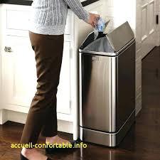 poubelle cuisine ouverture automatique poubelle 50l cuisine poubelle 50l cuisine poubelle automatique
