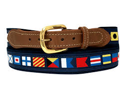 Nautical Code Flags Nautical Code Flag Belts Ultimate Hat And Skippers Outdoor