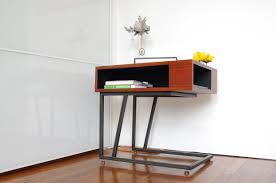 C Shaped Desk Brown Wooden C Shaped Side Table With Metal Of Wonderful C Shaped