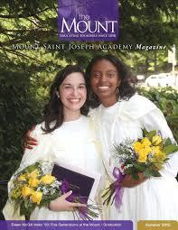 Kristine Brabson by Mount Magazine Summer 2015 By Mount Saint Joseph Academy Issuu