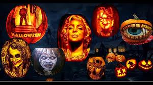 halloween carved pumpkins 2016 youtube