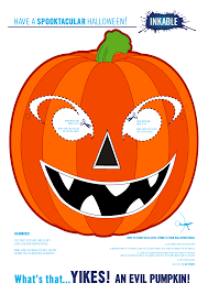 Free Printable Halloween Masks by Halloween Pumpkin Coloring Pages Festival Collections Popular