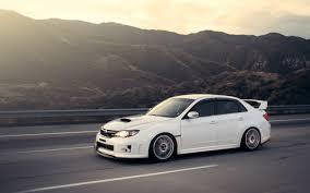 tuner cars wallpaper white subaru tuner car walldevil