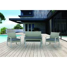 divano giardino set salotti da giardino