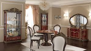 classic dining room furniture dining room italian french antique furniture all silver foil