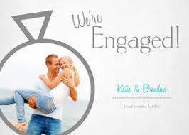 engagement announcement cards custom engagement announcements cards with your own photos mixbook