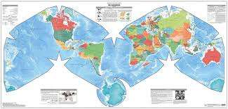 Worlds Map by The World U0027s Best Map Projection U2013 Numbers And Shapes