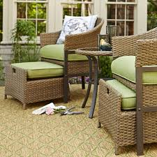 Patio Chair With Ottoman by Patio Chair With Hidden Ottoman I94 All About Fancy Home