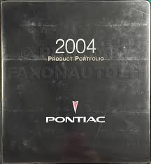 2004 pontiac grand prix repair shop manual original 2 volume set