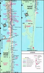 Nc Maps South Nags Head Map North Carolina Nags Head Street Map