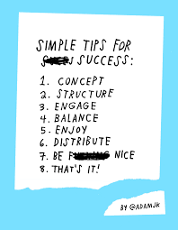 life u0026 business simple tips for success by adam j kurtz u2013 design