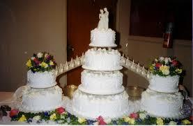 wedding cakes with fountains bridge fountains s bakery wedding cakes with