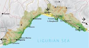 Map Of Cinque Terre Liguria Holidays Ligurian Riviera Holidays Inghams Italy