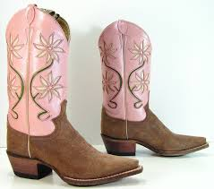 womens pink cowboy boots sale boots pink cowboy boots womens 55 b m vintage beautiful womens